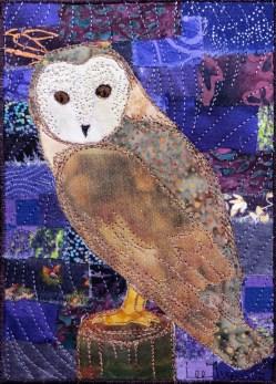 """barn owl 8x10"""""""