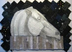 """Parthenon horse 12x14"""""""
