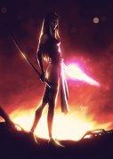 Psylocke by lenadrofranci
