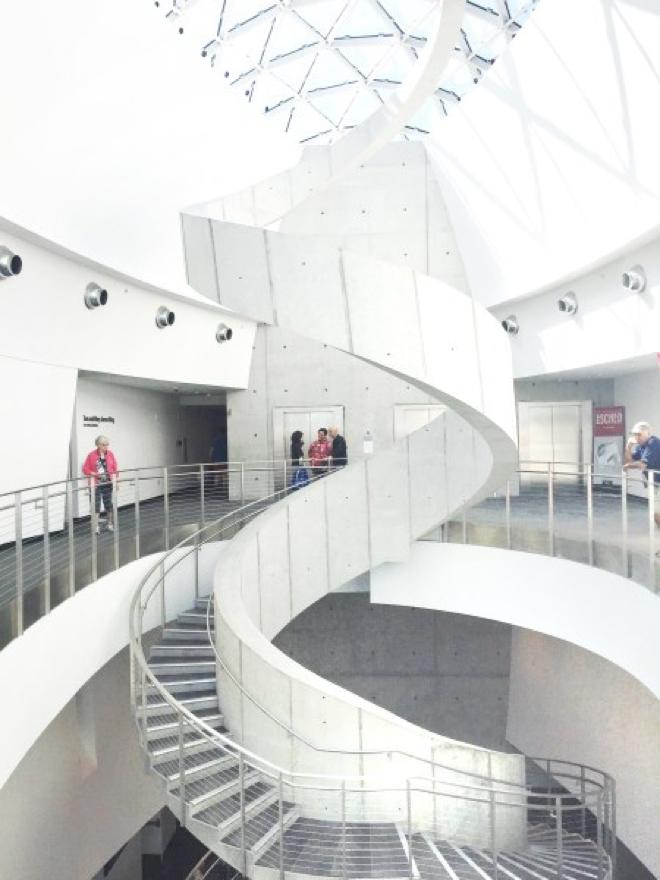 Florida - Dahli Museum Treppenhaus