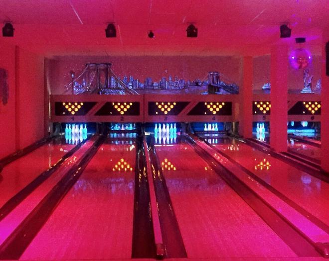 Olympia Bowling - Bowlingbahnen Licht