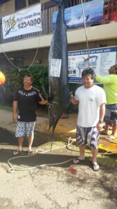 Family n Friends 2015 - Ryan Nishikawa - Kacy K - Biggest Marlin  201.4 lbs - 2