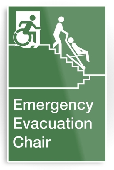 emergency evacuation chair merchandise
