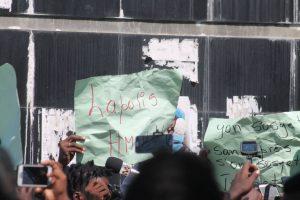 Haïti-Protestation : Des journalistes marchent à Port-au-Prince pour dénoncer la brutalité policière