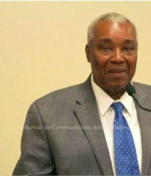 Haiti-Nécrologie : L'ancien sécretaire général de la présidence, Anthony Barbier décédé