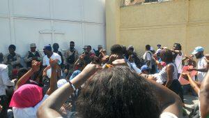 Haïti : Nouvelle marche pacifique des étudiants de l'Université de Port-au-Prince contre le kidnapping