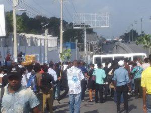 Haïti-Kidnapping : Un employé de l'ONA enlevé à Delmas, ses collègues protestent et exigent sa libération