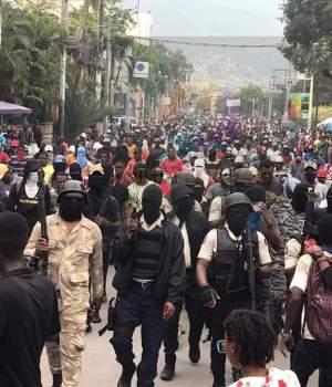 Haïti-Politique: Fantom 509 dans les rues