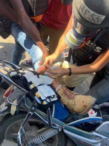 Haïti-Manifestation : Le photo-journaliste Dieu-Nalio Chéry blessé à la jambe