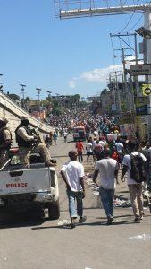 Haïti-Protestation : L'opposition insiste dans les rues pour le départ du président Jovenel Moïse