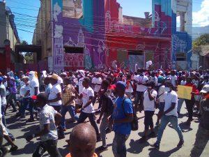 Haïti-Protestation: Nouvelle journée de mobilisation des rues contre Jovenel Moïse