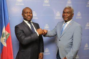Haïti-Administration : Frantz Exantus investi dans ses nouvelles fonctions