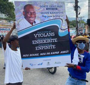 Haïti-Insécurité : Des médecins étaient dans les rues de Port-au-Prince