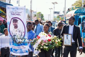Haïti-Nécrologie : Les funérailles symboliques du policier Jean Daniel Michel chantées ce mercredi