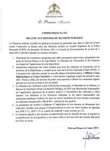 """Haïti-Kidnapping : Interdiction provisoire des vitres teintées en circulation sur le territoire national, seuls les """"Officiels"""" sont exeptés!"""