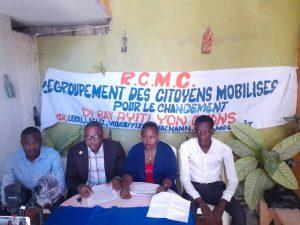 Haïti-Politique : RCMC opte pour la tenue des élections dans un climat de paix