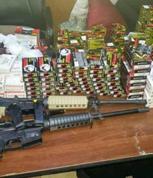 Haïti-Sécurité: Des armes et de munitions saisies à la douane du Cap-Haïtien