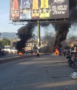 Haïti-Insécurité : Nouvelle journée de tension à Port-au-Pri nce