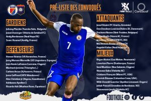 Haïti-Sport  :  Jean Jacques Pierre pose sa première action