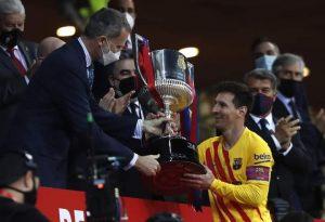 Football : Le FC Barcelone étrille l'Athletic Bilbao et remporte la coupe du Roi