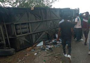 Arcahaie (Ouest) : 21 morts dans un accident de la route, selon la protection civile
