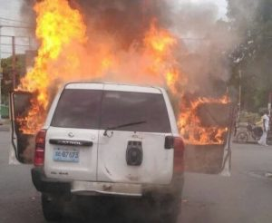 Haïti-Insécurité : Deux véhicules
