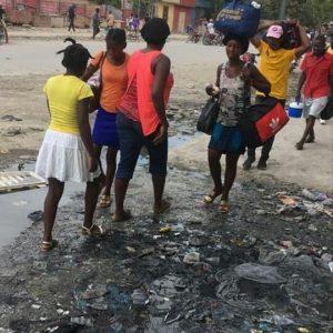 Martissant : Pillage, incendie, mort d'hommes, le calvaire des habitants se poursuit