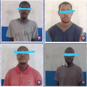 Haïti- Sécurité : 9 présumés bandits arrêrés
