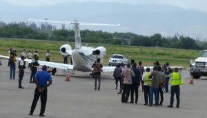 Haiti-Santé : Malade, l'ancien président Jean Bertrand Aristide s'envole pour Cuba