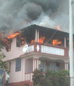 Jérémie-Drame : Incendie de la résidence de la Directrice de la Unibank
