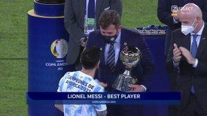 Copa América 2021 : Lionel Messi et l'Argentine sacrés champions en terre brésilienne!
