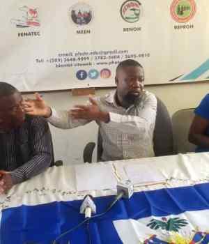 Haïti-Éducation : Des syndicalistes opinent sur la rentrée des classes