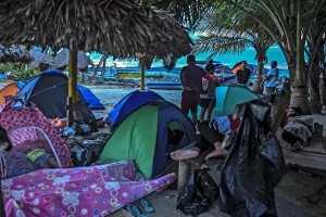 Voyage clandestin : Des migrants haïtiens chassés par la misère et l'insécurité, bloqués entre le Panama et la Colombie