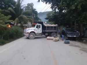 Haïti: Protestation contre le kidnapping à las Cahobas