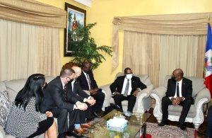 Haïti-Crise : Ariel Henry rencontre la délégation américaine