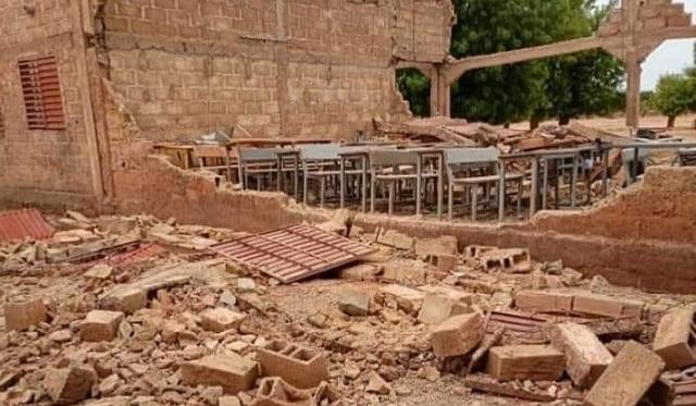 Effondrement d'écoles au Burkina : Un décès et une vingtaine de blessés - leFaso.net