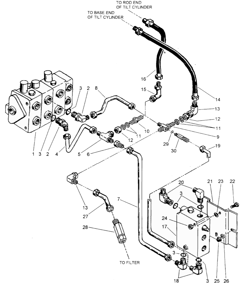 bobcat 863 parts diagram simple animal and plant cell how a hydraulic self-leveling valve works | lefebure