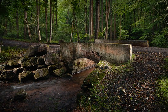 Bridge over Seglock Creek