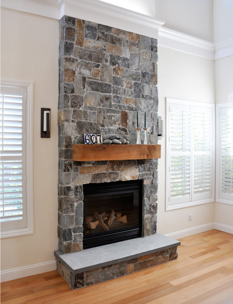 Staircase and Fireplace Remodel  LEFF Construction Design Build