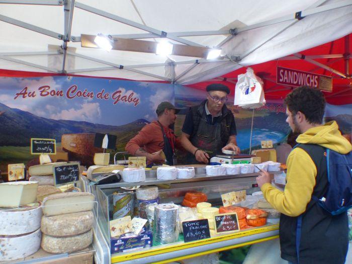 """""""Au bon coin de Gaby"""" ou rendez-vous avec les saveurs fromagères Auvergnates. Photo : Morgane Briens"""