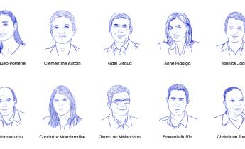 Les 10 personnalités en pôle position pour le second tour de la Primaire populaire. Photo : capture d'écran La Primaire populaire