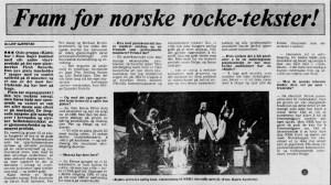 Faksimilie fra Dagbladet, juli 1980