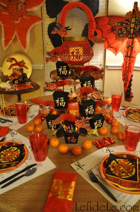 Chinese New Year of the Sheep / Ram Party Décor Ideas ...