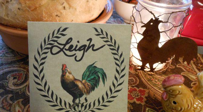 DIY Rusted Rooster Chicken Wire Votive Holder Craft