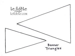 BannerTriangleTemplatesLeigh