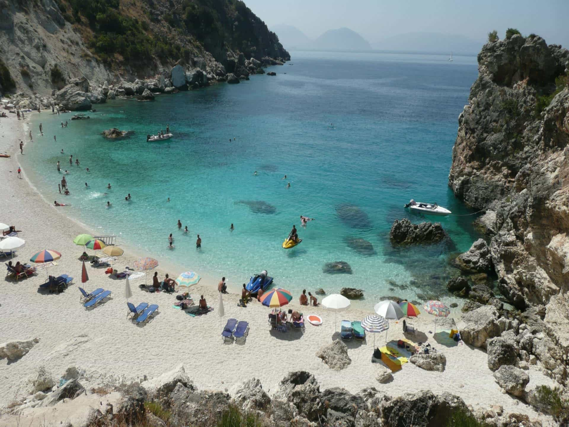 Agiofili Beach  Lefkas Beaches  Lefkada Beaches