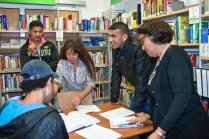 Visite guidée à la bibliothèque Couronnes