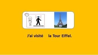 J'ai visité la Tour Eiffel.