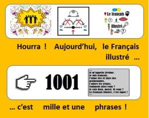 1001 phrases pour le Français illustré
