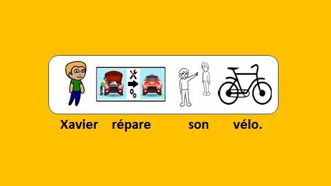 Xavier répare son vélo – vidéo 132